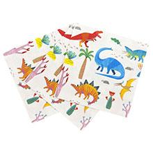 Servilletas Dinosaurios 33 x 33 cm, Pack 20 u. - Ítem1