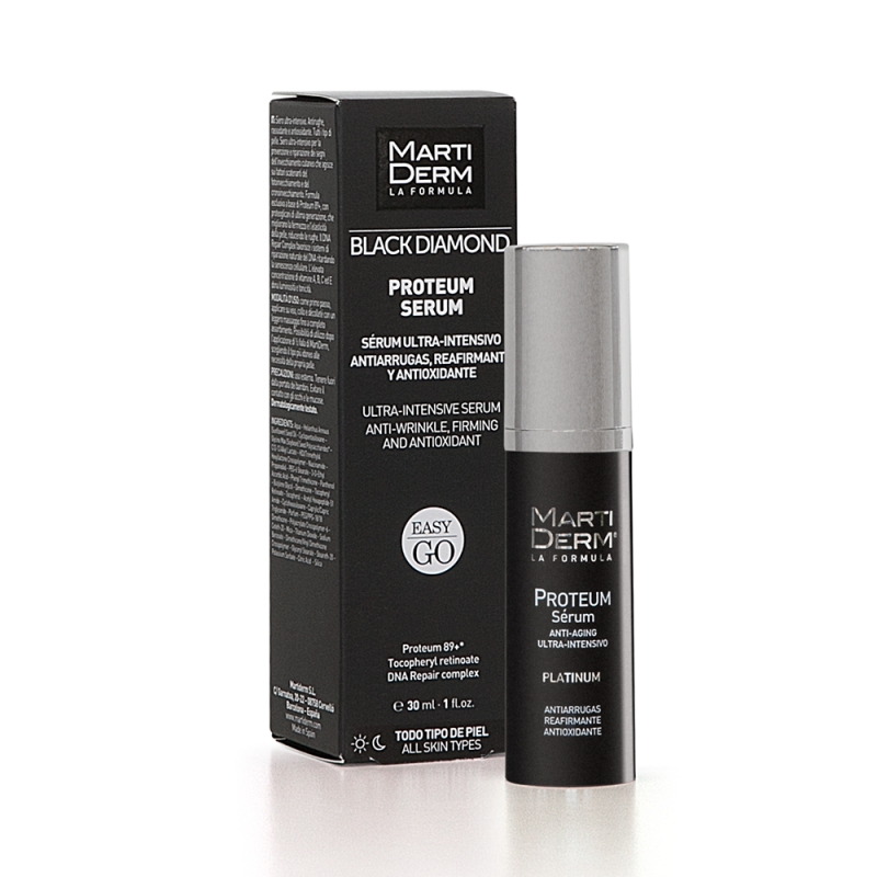 Martiderm Black Diamond Proteum Sérum Easy Go, 30 ml | Farmaconfianza.