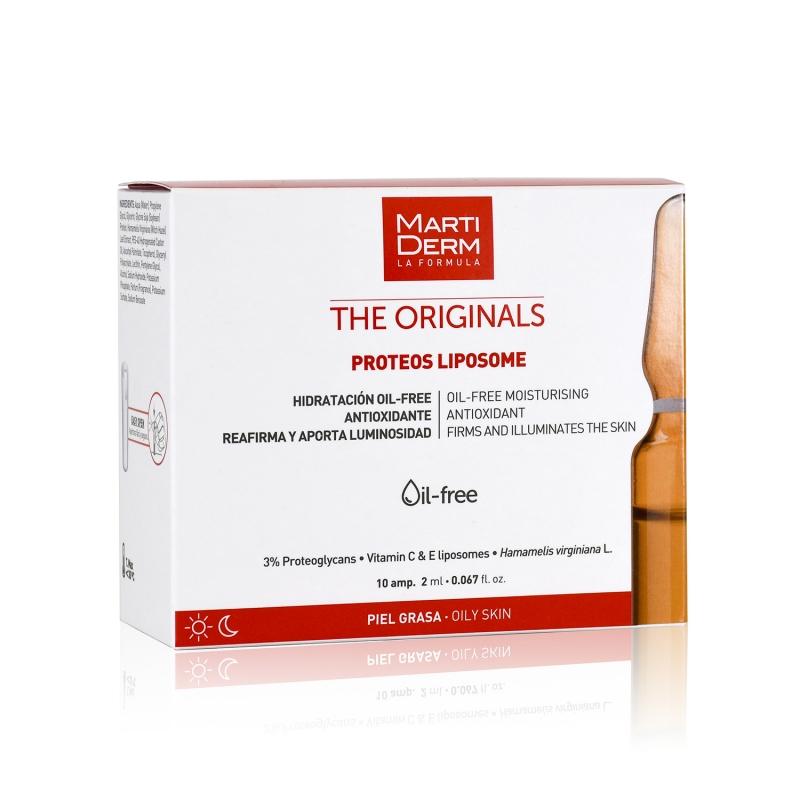 Martiderm Liposomas Antiarrugas Tensor Piel Mixta y Grasa, 10 ampollas
