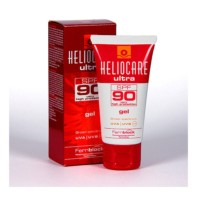 Heliocare Ultra Gel SPF90, 50 ml + REGALO 3 Endocare CPeel Gel + 7 ampollas Endocare C Oil Free