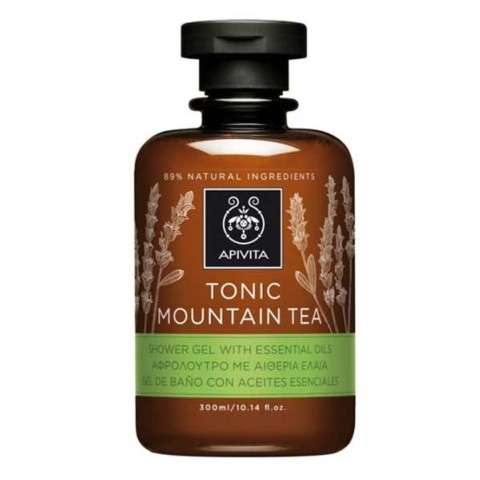 Apivita Tonic Mountain Tea Gel de Ducha, 300 ml ! Farmaconfianza