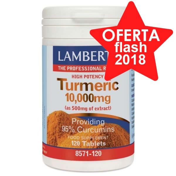 Lamberts Turmeric Cúrcuma 10,000mg, 120 Comprimidos. | Farmaconfianza