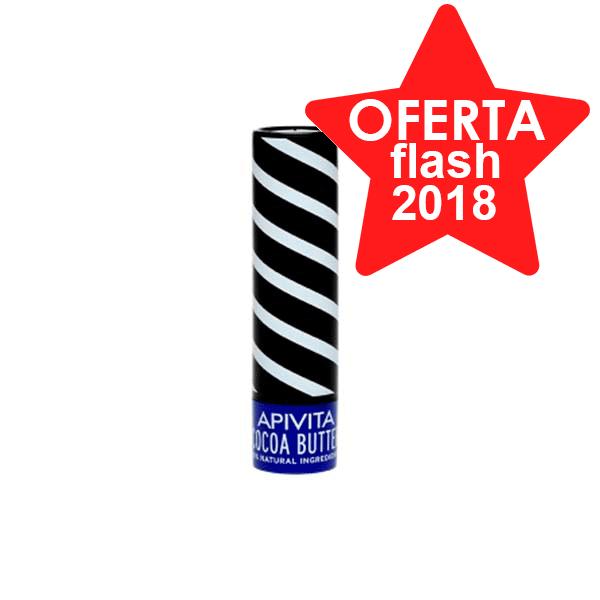 Apivita Bálsamo Labial con Manteca de Cacao SPF20, 4,4g Farmaconfianza
