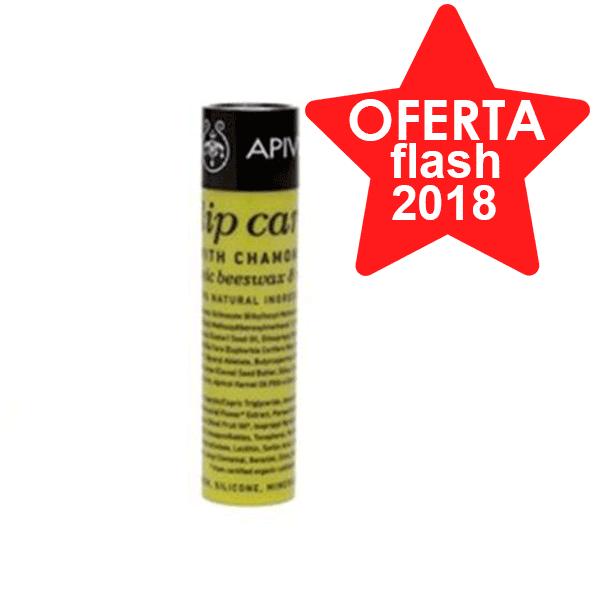 Apivita Lip Care Bálsamo Labial con Camomila SPF15