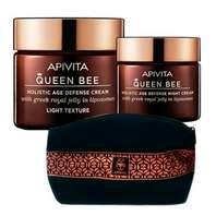 Apivita Queen Bee Pack Oferta Crema Ligera 50 ml + Neceser + Minitalla crema noche ! Farmaconfianza