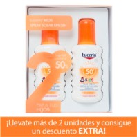 Eucerin DUPLO Sun Kids Spray SPF50 , 200 ml. | Farmaconfianza