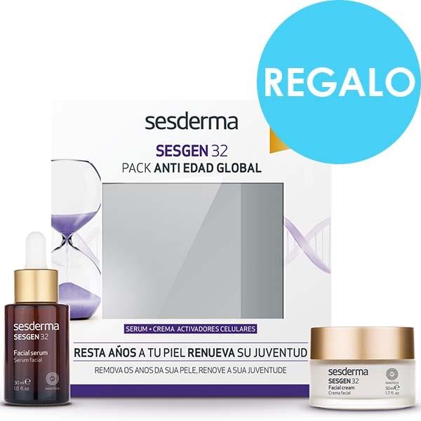 Sesderma Pack Antiedad Global Sesgen 32 Serum, 30 ml. + REGALO Crema, 50 ml. ! Farmaconfianza