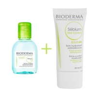 Bioderma Pack Sebium Mat Control 30 ml. + H20 100 ml. ! Farmaconfianza