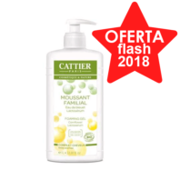 Cattier Gel de Baño Espumoso Familiar, 1000 ml.