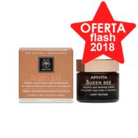 Apivita Queen Bee Crema Ligera Antienvejecimiento Holística para pieles normales a mixtas, 50 ml.