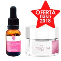 Segle Clinical Sérum Tinolvital 15 ml +Crema Tinolvital 50 ml Kit Age Plus 40