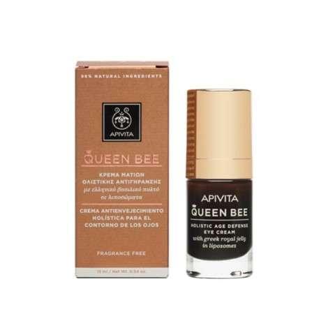 Apivita Queen Bee Contorno de Ojos Antienvejecimiento Holístico, 15 ml
