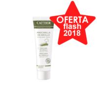 Cattier Mascarilla de Arcilla Verde para Piel Mixta y Grasa, 100 ml.