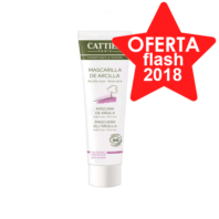 Cattier Mascarilla de Arcilla Rosa para Piel Sensible, 100 ml.