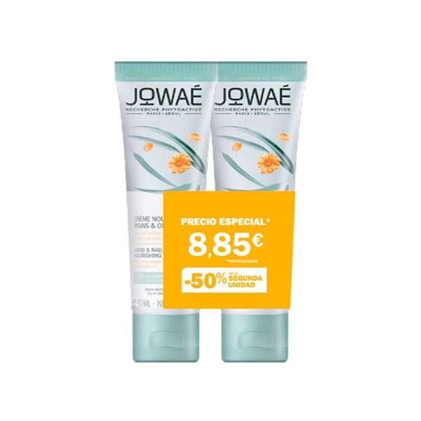 Jowae Crema Nutritiva Manos y Uñas duplo, 50 ml