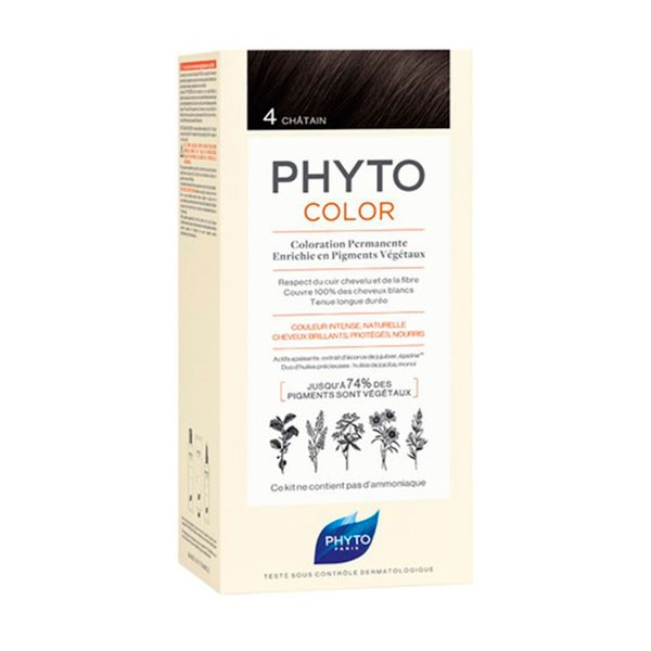 PhytoColor 4 Castaño