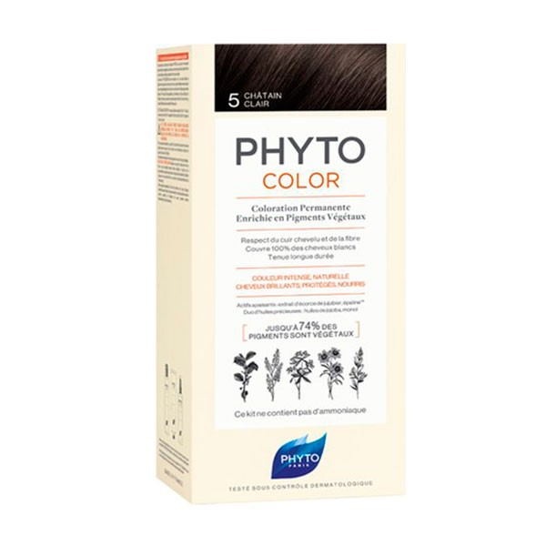 PhytoColor Sensitive 5 Castaño Claro|Farmaconfianza