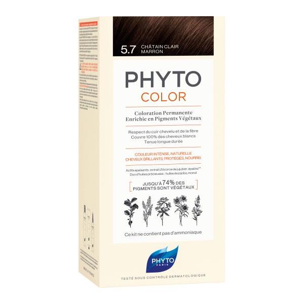 PhytoColor 5.7 Castaño Marrón Claro |Farmaconfianza