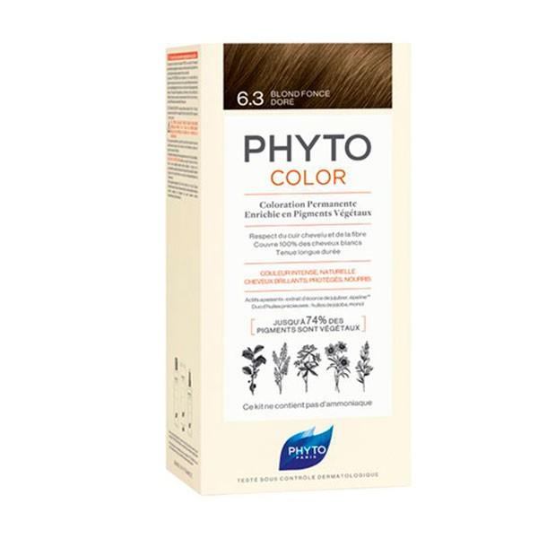 PhytoColor 6.3 Rubio Oscuro Dorado