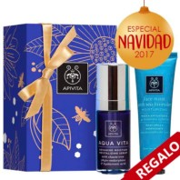 Apivita Aquavita Sérum Revitalizante, 30 ml. + REGALO Mascarilla Lavanda de Mar | Farmaconfianza