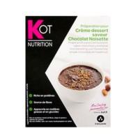 Kot Nutrición Crema Postre de Chocolate y Avellanas, 7 sobres | Compra Online