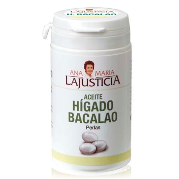 Ana María Lajusticia Aceite de Hígado de Bacalao, 90 perlas