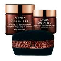 Apivita Queen Bee Pack Oferta Crema Rica 50 ml + Neceser + Minitalla crema noche ! Farmaconfianza