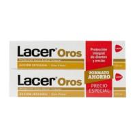Lacer Oros Pasta Dentífrica, 2 x 125 ml ! Farmaconfianza