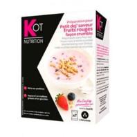 Kot Desayuno de Yogurt con Frutos Rojos, 7 sobres | Compra Online