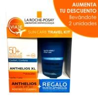La Roche Posay Kit de Viaje Anthelios XL Leche Confort SPF50 100ml + REGALO Posthelios 100ml. | Farmaconfianza