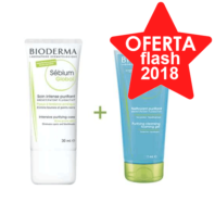 Bioderma Sébium Global 30 ml + Sébium Limpiador Purificante, 100 ml