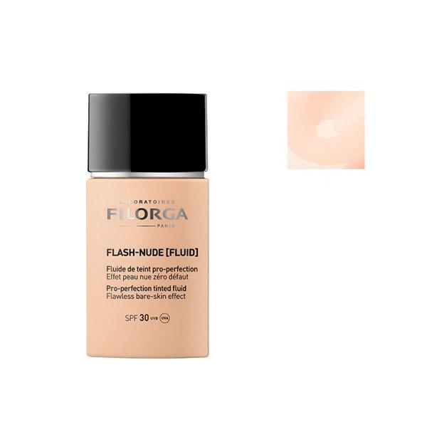 Filorga Flash Nude Fluid SPF30 #02 Nude Gold • Se priser