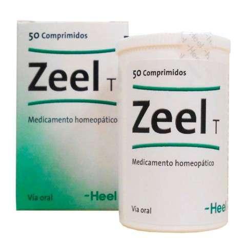Heel Zeel T, 50 Comprimidos.   Farmaconfianza