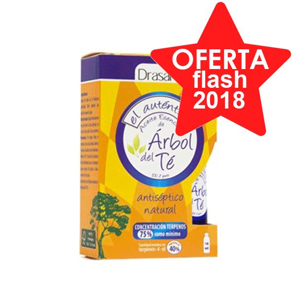 DRASANVI Aceite Esencial de Árbol de Té, 15 ml