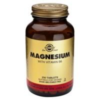 Solgar Magnesio con Vitamina B6, 250 comprimidos ! Farmaconfianza