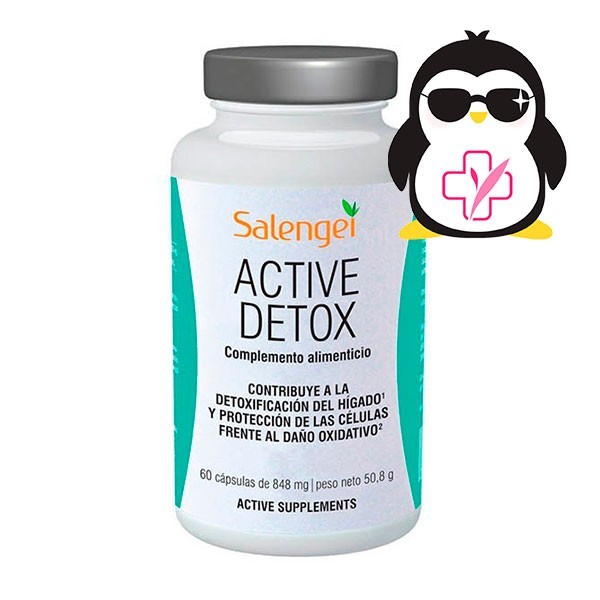 Salengei Active Detox, 60 cápsulas ! Farmaconfianza