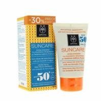 Apivita Suncare Crema Facial Pieles Sensibles SPF50, 50 ml ! Farmaconfianza