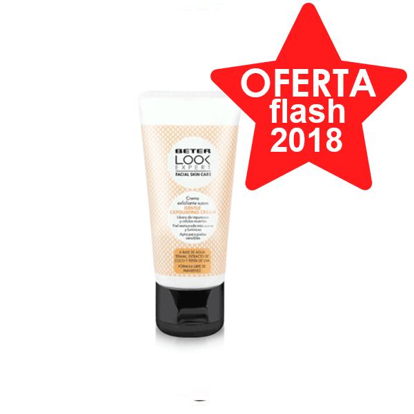 Beter Look Expert Crema Exfoliante Suave, 50 ml