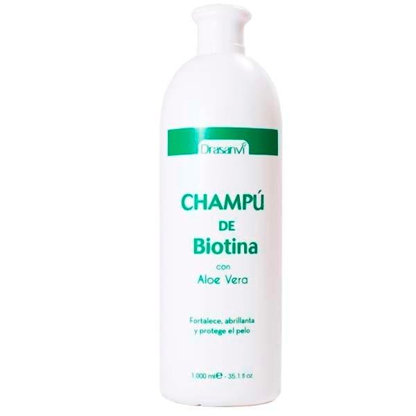 Drasanvi Champú de Biotina y Aloe Vera, 1L|Farmaconfianza