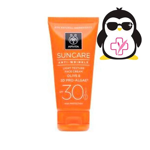 Apivita Suncare Protección Solar Antiarrugas SPF30, 50ml | Farmaconfianza
