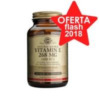 Solgar Vitamina E 400 UI 268 mg, 100 cápsulas blandas