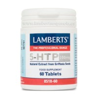 Lamberts 5-HTP 100 mg, 60 tabletas. | Farmaconfianza