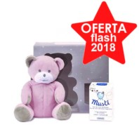 Compra Onlne Mustela Colonia Musti Regalo Oso de Peluche Rosa | Farmaconfianza