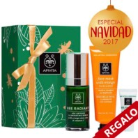 Apivita Bee Radiant Serum, 30 ml. + Mascarilla Naranja + Mini Bee Radiant Light | Farmaconfianza
