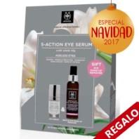 Apivita 5 Action Sérum Ojos, 15 ml. + REGALO Eye Make Up Remover | Farmaconfianza