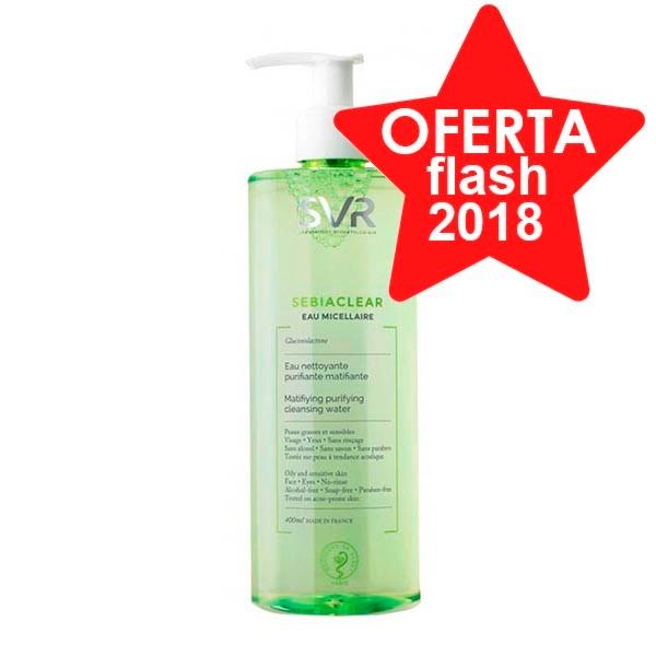 SVR Sebiaclear Agua Micelar, 400 ml ! Farmaconfianza