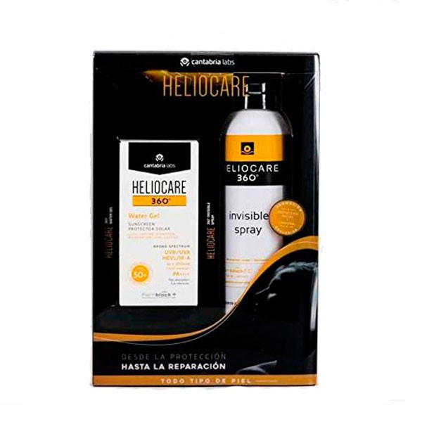 Compra Online Heliocare Pack Oferta Water Gel 360 SPF50 + Spray Invisible 360 SPF50