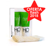 H2O System Pack Aloe Repare Gel, 200 ml. + 2ª ud. al 50% ! Farmaconfianza