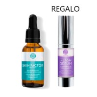 Segle Clinical Pack OFERTA Sérum Skin Factor, 30 ml + Flash Sérum Contorno de Ojos.