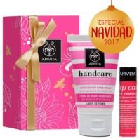 Apivita Pack Handcare Crema Manos Secas Jazmín + Labial Granada | Farmaconfianza